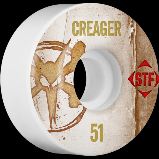 BONES WHEELS STF Pro Creager Team Vintage Wheel 51mm 4pk
