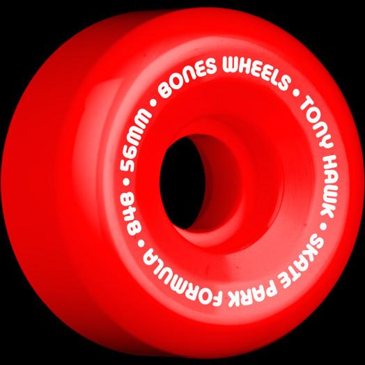 BONES WHEELS SPF Pro Hawk Mini Cube 56mm Red(4pack)