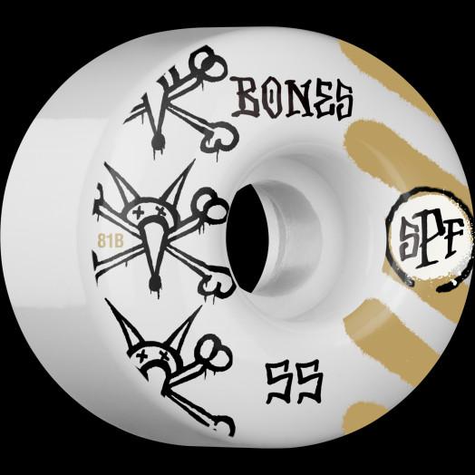BONES WHEELS SPF War Paint 81B 55mm 4pk