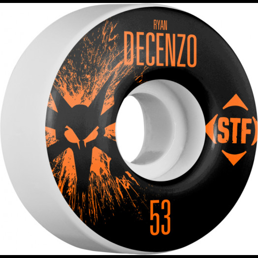 BONES WHEELS STF Pro Decenzo Team Wheel Splat 53mm 4pk