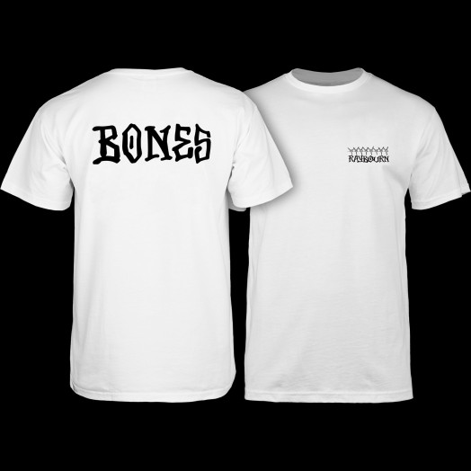 BONES WHEELS Pro Raybourn T-Shirt White