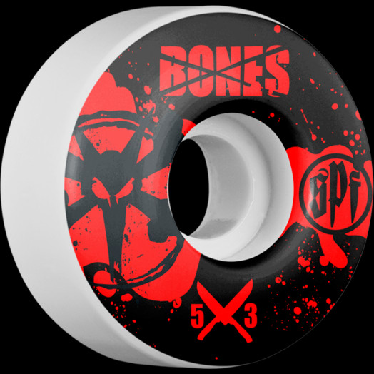 BONES WHEELS SPF Crime Scene 53mm wheels 4pk