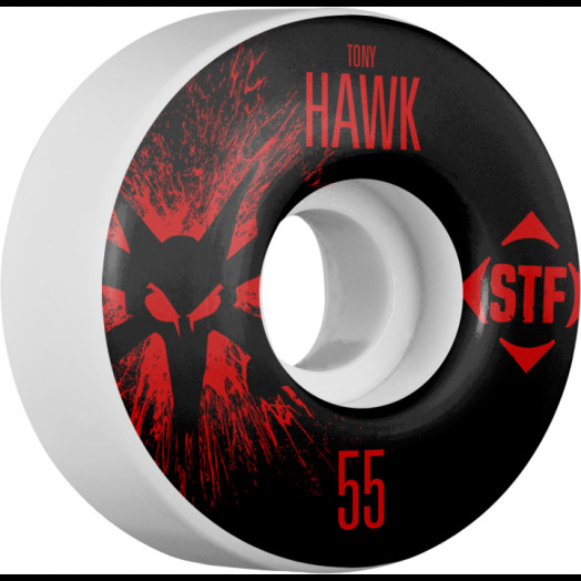 BONES WHEELS STF Pro Hawk Team Wheel Splat 55mm 4pk