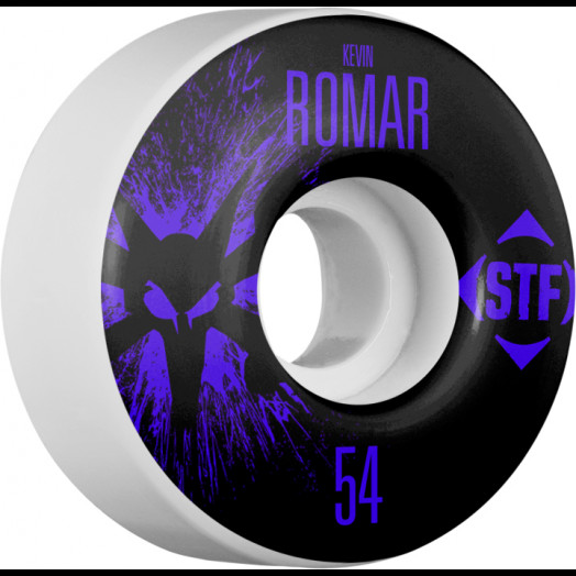 BONES WHEELS STF Pro Romar Team Wheel Splat 54mm 4pk