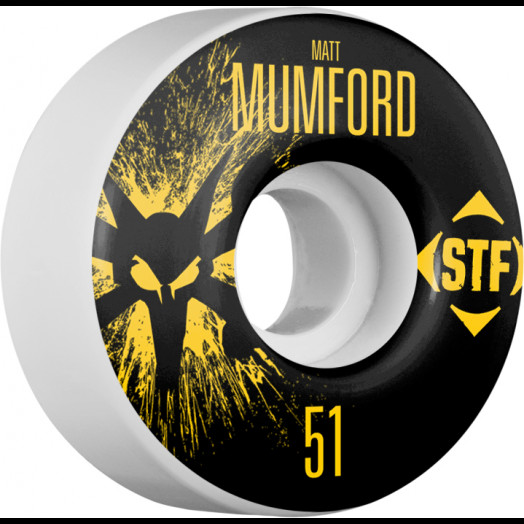 BONES WHEELS STF Pro Mumford Team Wheel Splat 51mm 4pk
