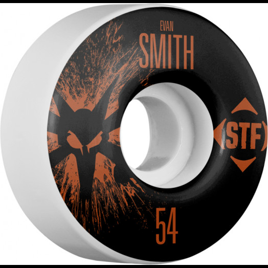 BONES WHEELS STF Pro Smith Team Wheel Splat 54mm 4pk