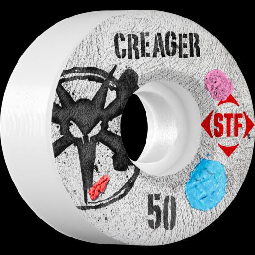 BONES WHEELS STF Pro Creager Bubblegum 50mm wheels 4pk
