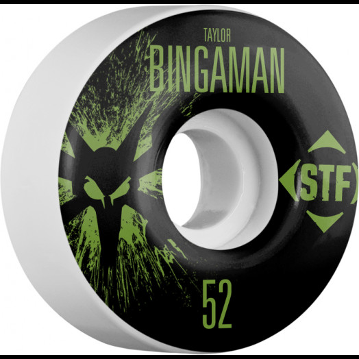 BONES WHEELS STF Pro Bingaman Team Wheel Splat 52mm 4pk