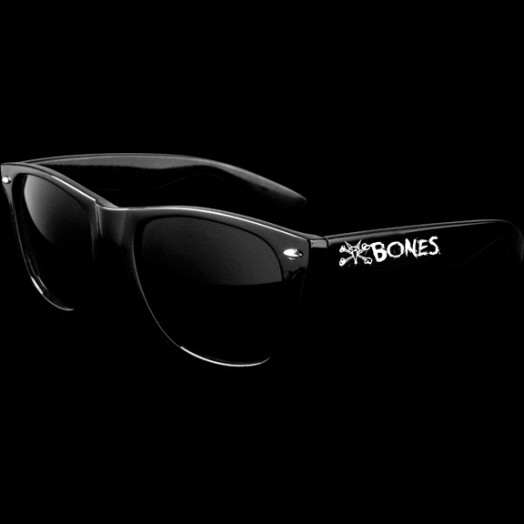 BONES WHEELS Vato Rat Sunglasses Black