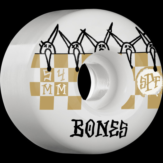 BONES WHEELS SPF Tiles 81B 54mm 4pk
