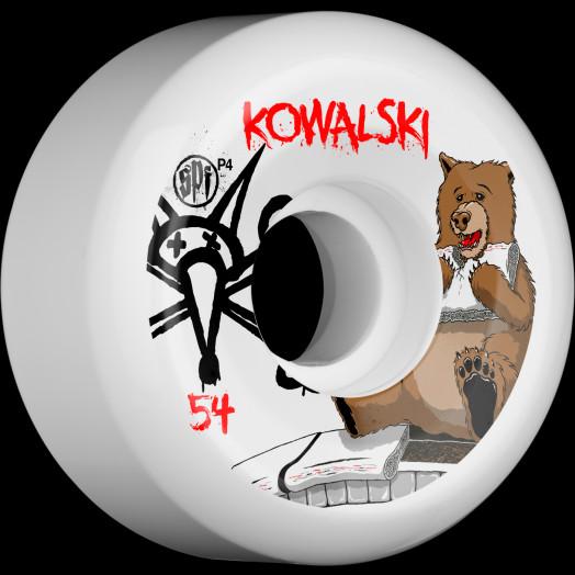 BONES WHEELS SPF Pro Kowalski Bear 54mm 4pk
