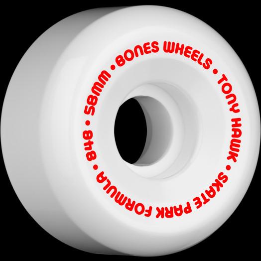 BONES SPF Pro Hawk Mini Cube 58x33 P5 Skateboard Wheel 84B 4pk