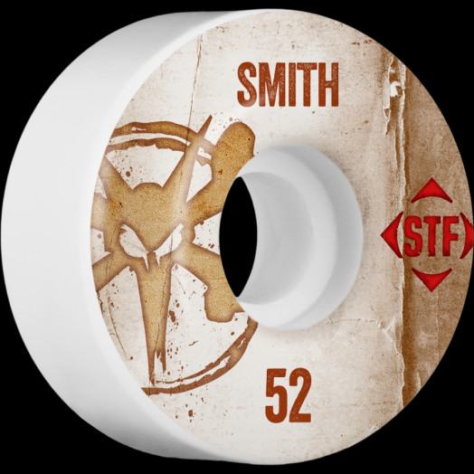BONES WHEELS STF Pro Smith Team Vintage Wheel 52mm 4pk