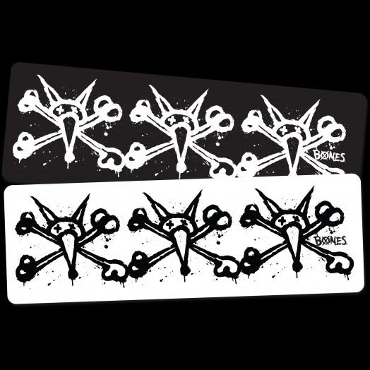 BONES WHEELS Tre Vato Sticker Single