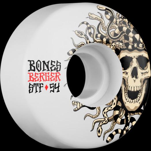 BONES WHEELS STF Pro Berger Medusa Wheel 54mm 4pk