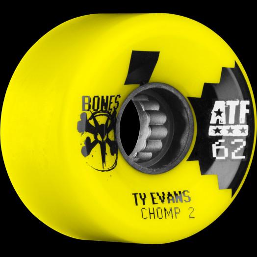 BONES WHEELS ATF Filmer Evans Chomped II Wheel 62mm 4pk