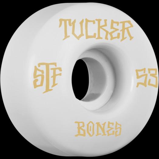 BONES WHEELS STF Pro Tucker Title 53mm 4pk