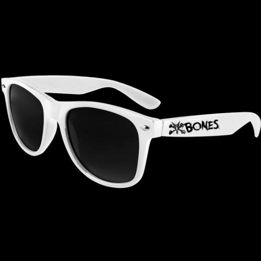 BONES WHEELS Vato Rat Sunglasses White