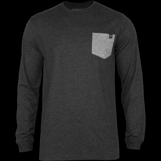 BONES WHEELS Keegan L/S Shirt Black