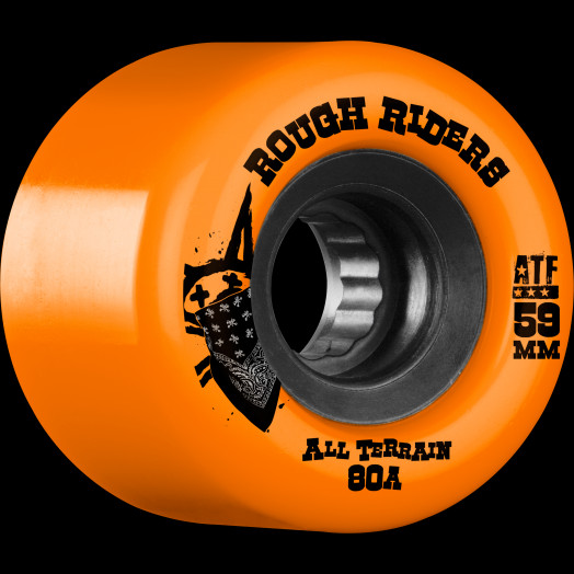 BONES WHEELS Rough Riders Orange 59mm 4pk