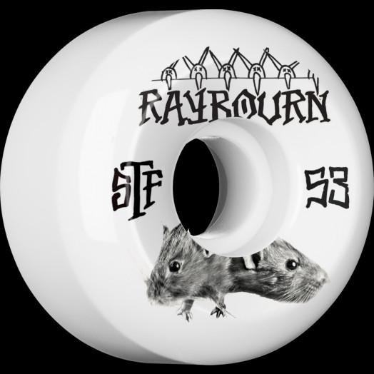 BONES WHEELS STF Pro Raybourn Choose 53mm 4pk