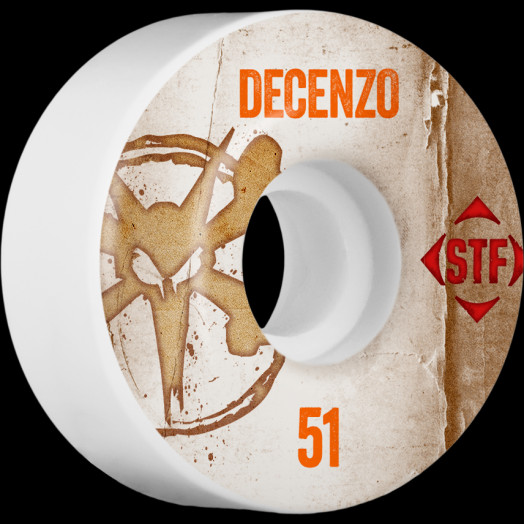 BONES WHEELS STF Pro Decenzo Team Vintage Wheel 51mm 4pk