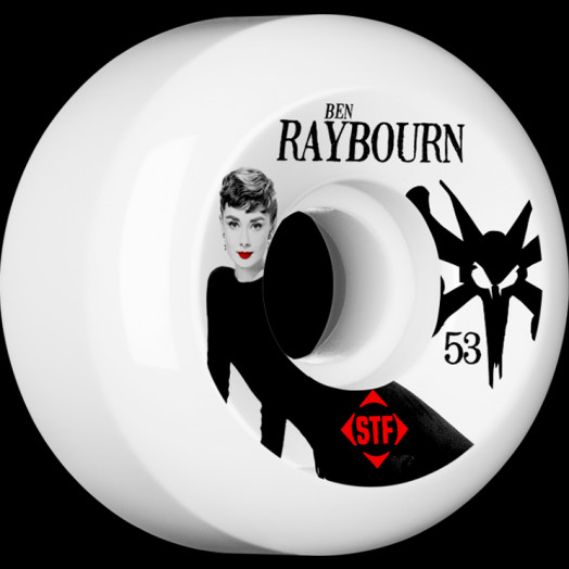 BONES WHEELS STF Pro Raybourn Audrey II 53mm wheels 4pk