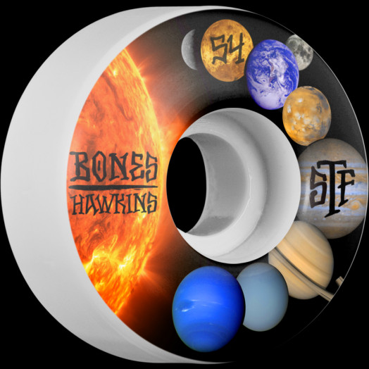 BONES WHEELS STF Pro Hawkins Solar 54mm 4pk