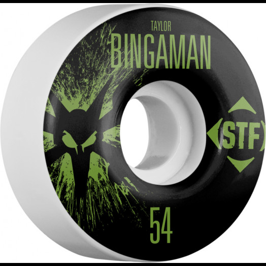 BONES WHEELS STF Pro Bingaman Team Wheel Splat 54mm 4pk