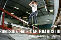 Thumb of How to frontside halfcab boardslide with Dakota Servold
