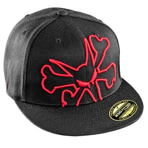 3D Rat Cap, Red