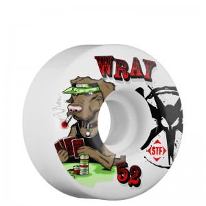 Wray Poker Dog, 52mm x 29mm
