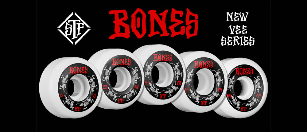 NEW STF V Series from BONES WHEELS