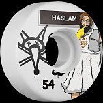 BONES STF Pro Haslam Lunch Lady 54x30 V3 Skateboard Wheel 83B 4pk