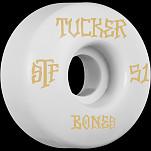 BONES STF Pro Tucker Title 51x30 V1 Skateboard Wheel 83B 4pk