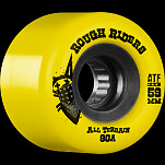BONES WHEELS Rough Riders 59mm Yellow Wheel 4pk