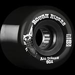 BONES WHEELS Rough Riders 59mm Black Wheel 4pk