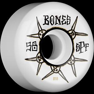 BONES SPF Ratz 81B 58x33 P5 Skateboard Wheel 4pk