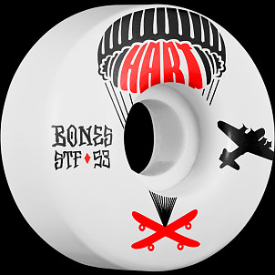 BONES STF Pro Hart Drops 53x31 V1 Skateboard Wheel 83B 4pk