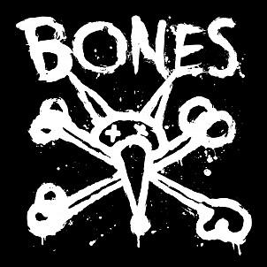 "BONES WHEELS Vato Event 16"" Sticker Single"
