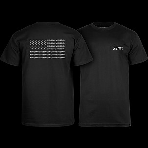 BONES WHEELS Pride T-shirt - Black