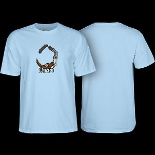 BONES WHEELS T-shirt Scorpion Blue