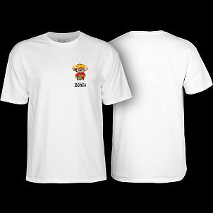 BONES WHEELS Weedy T-shirt White