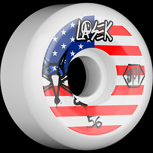 BONES SPF Pro Lasek USA 56x32 P5 Skateboard Wheel 84B 4pk