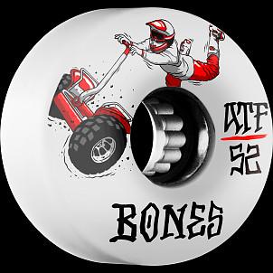BONES ATF SEG Cross 52x32 Skateboard Wheel 80a 4pk