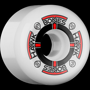 BONES SPF Pro Hawk T-Bone 58x33 P5 Skateboard Wheel 84B 4pk