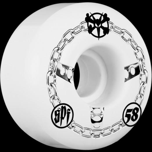 BONES WHEELS SPF Chained 58mm wheels 4pk