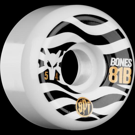 BONES SPF Eighty Ones 54x31 P5 Skateboard Wheel 81B 4pk
