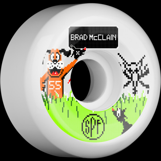 BONES SPF Pro McClain Duck Hunt 55x31 P5 Skateboard Wheel 84B 4pk
