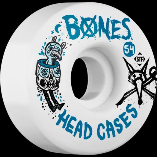 BONES STF Head Case 54x32 V1 Skateboard Wheel 83B 4pk